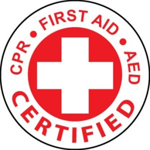 First Aid, CPR and AED