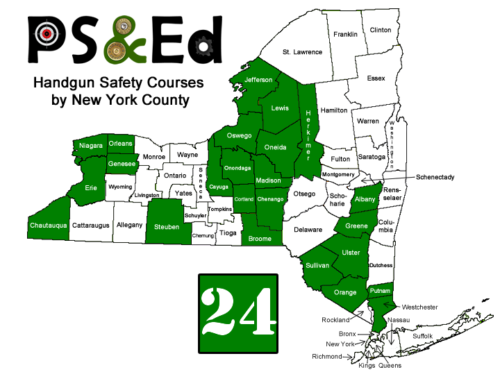 NY Counties PS&Ed are authorized in