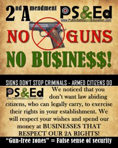 No Guns No Business