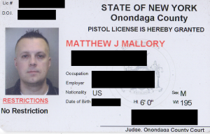 Unrestricted Pistol Permit